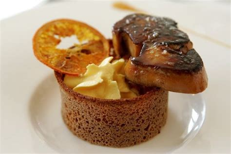 recette de cuisine gastronomique facile foie gras poêlé shake à l 39 orange et cointreau l