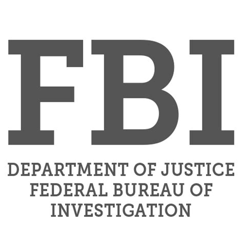 fbi bureau of investigation fbi department of justice federal bureau of