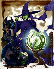 Wicked Witch Art