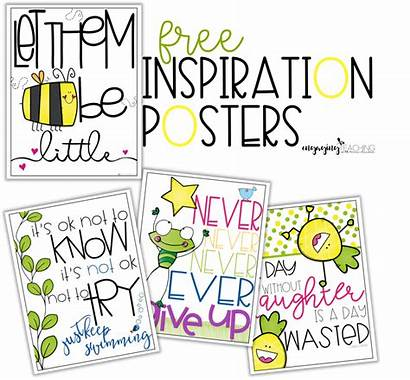Classroom Reveal Posters Inspiration Freebies Poster Inspirational