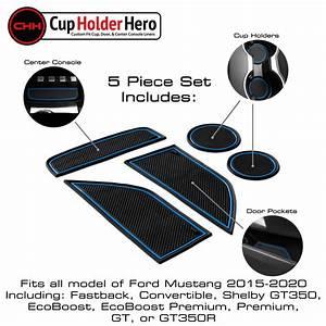 CupHolderHero Ford Mustang 2015-2020 Liner Accessories | eBay