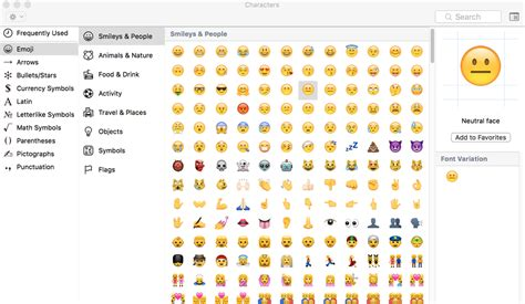 easy ways  type emoji   mac