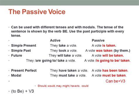 Unit 13 Passive Voice  Ppt Video Online Download