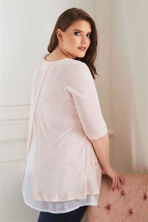 Bump It Up Maternity Rosa Feinstrick Pullover, In Großen