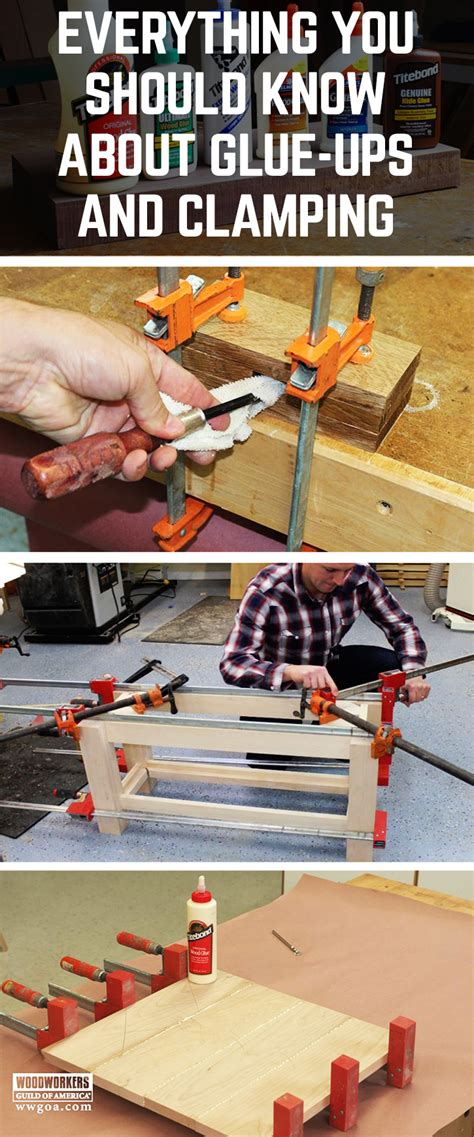 learn   glue wood    clamps