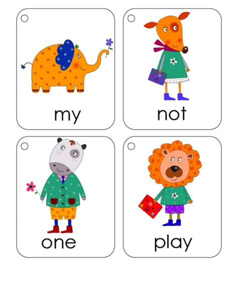 words flashcards  kidspressmagazinecom