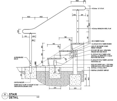 pin  rich mantz  carpentry   stair detail wood stairs construction drawings