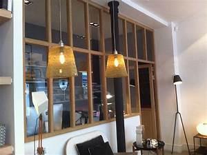 separation entre cuisine et salon plus chaleureux qu39en With separation vitree cuisine salon