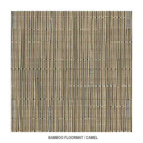 alexandra jordan bamboo camel floormat by chilewich 4 x 6