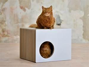 Maison Pour Chat Extérieur : griffoir maison en carton pour chat predia eckhaus ~ Premium-room.com Idées de Décoration
