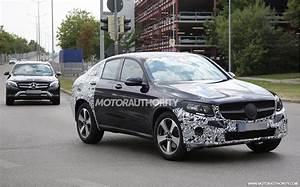 Mercedes Benz Glc Versions : 2017 mercedes benz glc coupe spy shots mbca ~ Maxctalentgroup.com Avis de Voitures