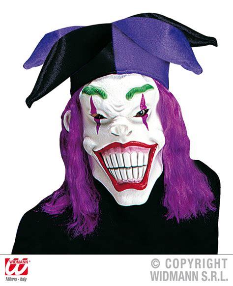karneval hut befestigen maske gruselclown clown harlekin hut haaren gruselig fasching karneval ebay
