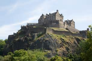 backdrop stand edinburgh castle scotland visit all the world