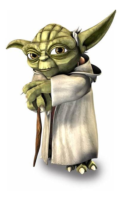 Yoda Wars Clipart Movie Clone Sticker Jedi