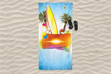 beach towel mockup  psd designhooks