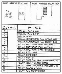 Dodge Avenger Relay  For Usages See Chart 8 505