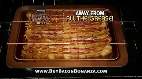 gotham steel bacon bonanza tv commercial  bacon youll   ispottv