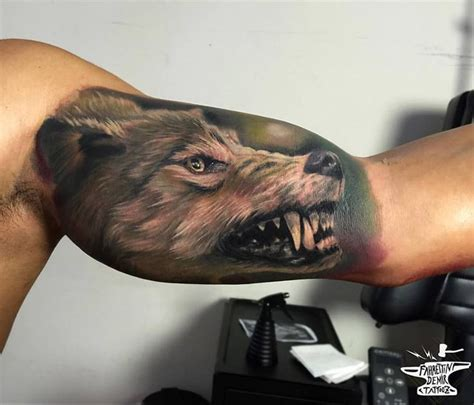 bicep tattoos  men improb