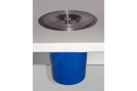 materiel cuisine pro vide déchets de plan de travail avec seau accessoires de