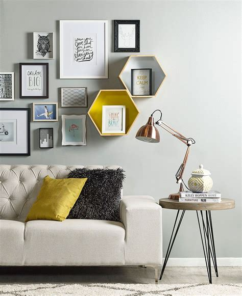 ideas  decorar los muros de tu living interior
