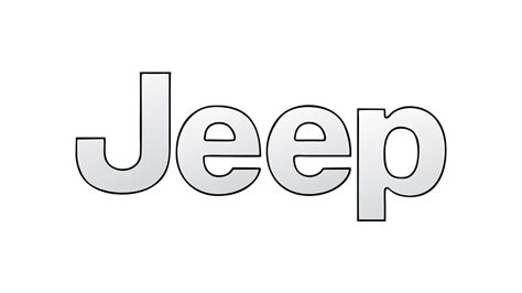 jeep logo drawing how to draw the jeep logo symbol emblem youtube