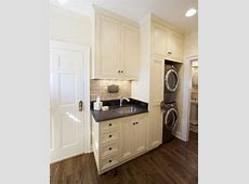 French Style Kitchen Mediterranean Laundry Room