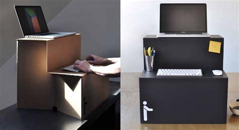 cardboard stand up desk cardboard standing desk is only usd 25 springwise