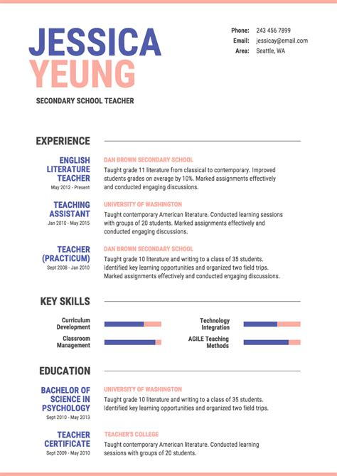 Create A Great Resume Free by Infographic Resume Template Creative Resume Exles