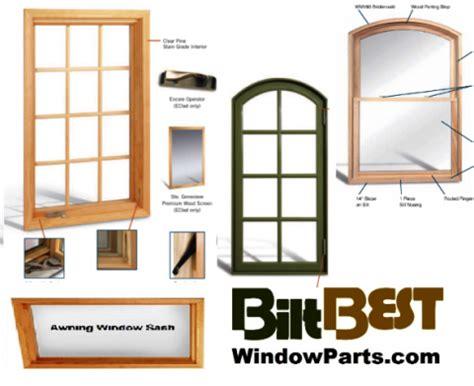 biltbest wood casement windows sash kits stiles  rails biltbest aluminum clad wood