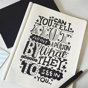 steph baxter freelance hand lettering and illustration With lettering sketchbook