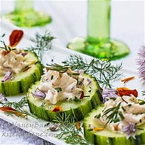 Fancy Schmancy Cool as a Cucumber Canapés + Tips on ...
