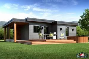 Designer, Zen / Contemporain LAP0506 Maison Laprise Maisons pré usinées