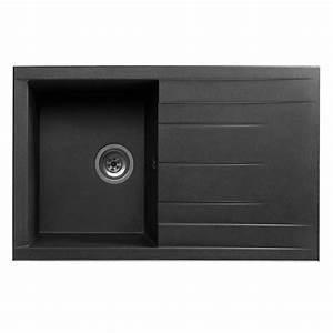 Evier Noir 1 Bac : evier cube 1 bac noir evier cuisine d coration ~ Dailycaller-alerts.com Idées de Décoration