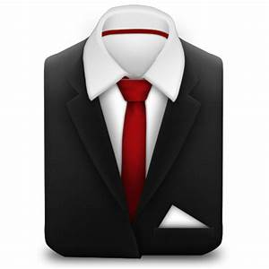 Manager Suit Red Tie Icon | Free Images at Clker.com ...