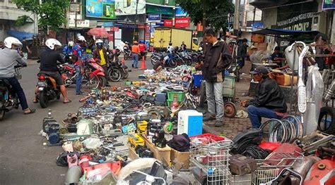 flea market insidental bisa menjadi daya tarik wisata