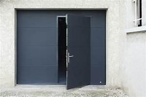 Porte garage grenoble sectionnelle enroulable ou basculante for Porte de garage enroulable avec porte pleine bois