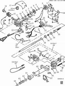 Exploded View For The 1996 Buick Riviera Tilt