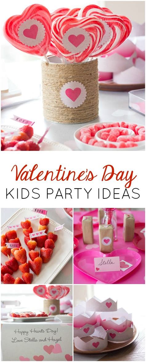 Happy Hearts Day! A Heart-Filled Kids Valentines Party ...