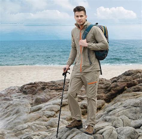 Outdoor Quick Dry Breathable Clothing Set Men Women Spring Summer 2 Pieces Set Sports Jackets ...