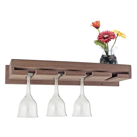 wine glass rack wall mounted wine glass holder homesfeed