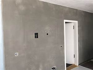 Betonoptik Wand Selber Machen : w nde in sichtbetonoptik wand in beton optik anleitung ~ Lizthompson.info Haus und Dekorationen