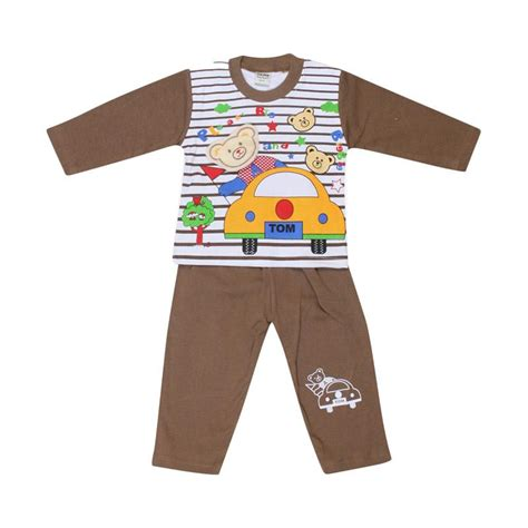 jual tompege tp  piyama setelan baju tidur anak laki