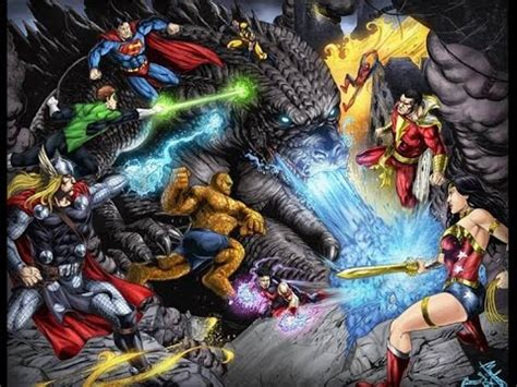 godzilla  dc marvel trailer fan  youtube