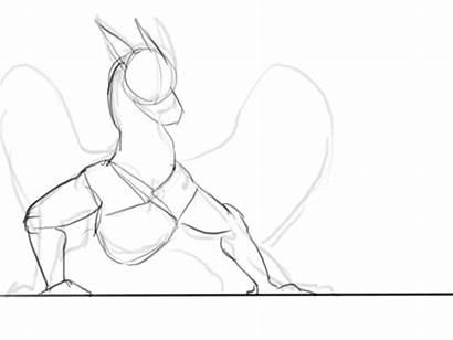 Remarin Dragon Animation Drawing Deviantart Update Tutorial
