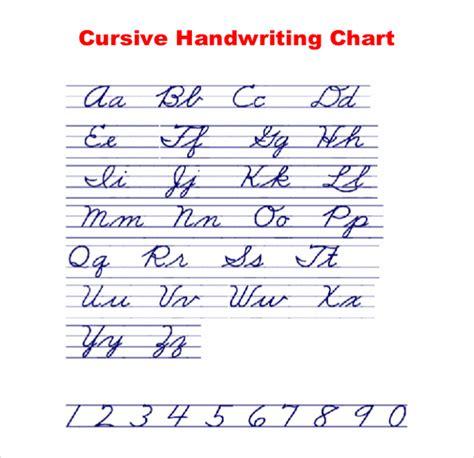 currsive writing 11 cursive writing templates free sles exle format free premium templates