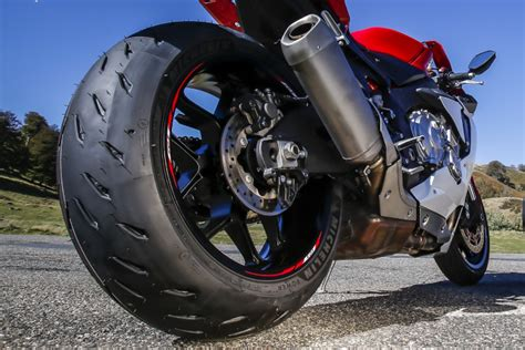 michelin power rs fast bikes test michelin s power rs cambrian tyres the