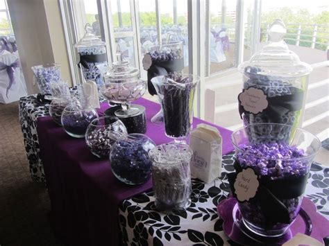 17 Best Images About Purple & White Retirement Party On