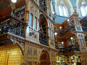 Cool Bookish Places: The Library of Parliament, Canada