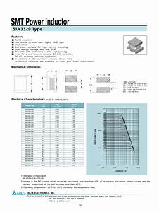 Smt Power Inductor Sia3329 Manuals