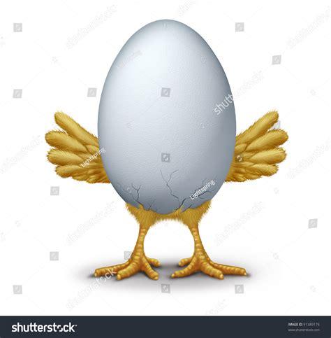 early bird funny egg humorous hatching stock illustration